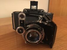 Zeiss Ikon Super Ikonta C 530/2 Folding Camera with Leather Case and Strap