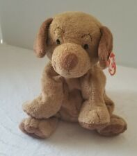 Ty Pluffies Puppers Brown Puppy Dog Plush