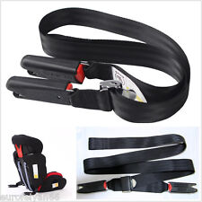 1.7m Child Safe Car Seat Mounting Strap Kit Install Fixed Belt Connector Isofix