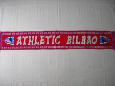 d1 sciarpa ATHLETIC  BILBAO FC football club calcio scarf bufanda spagna spain