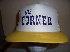 THE CORNER BAR BEER MN MESH Baseball Cap Trucker Hat Retro Rare Unique Lid I