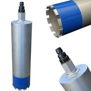 Diamantbohrkrone Kernbohrer + Adapter passend zu Kernbohrgerät Hilti DD130 DD150