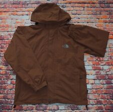 The North Face Mens Brown Summit Series Gore Tex Hooded Jacket Large