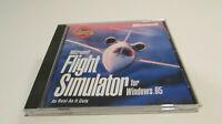 Microsoft Flight Simulator for Windows 95 (PC CD Rom 1999) Tested & Working VG