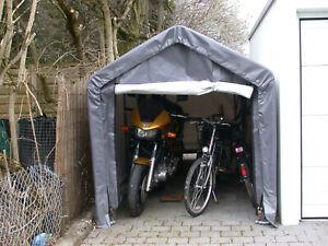 Mobiler Unterstand 1,8m x 3m x 2,1m als Bienenhaus, Motorradgarage o. Imkerei