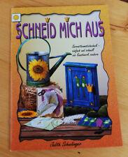 """""""Schneid mich aus"""" Serviettenmotivtechnik Judith Schwibinger Basteln"""