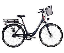 Telefunken E-Bike Mutitalent RC657 28 Zoll Citybike Elektrofahrrad Pedelec grau
