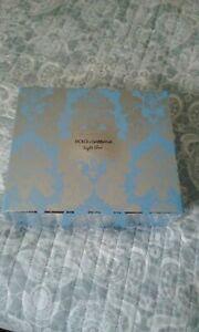 Dolce &Gabbana light blue 3 piece gift set.new
