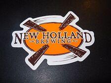 NEW HOLLAND BREWING Die Cut Logo STICKER craft beer brewery dragons milk