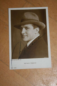 Wilhelm Dieterle , ca 9x14cm ,Ross  3201/1 (#A15)