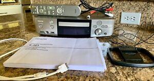 Denon S-301 DVD Home Theatre Receiver, Remote, Instruction Book, Antennas, Cable