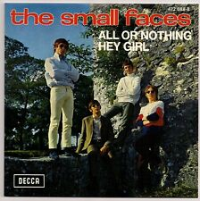 """60's MOD 7"""" FRENCH EP - SMALL FACES - ALL OR NOTHING / HEY GIRL++ REISSUE"""