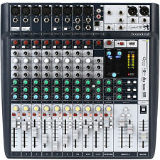 SOUNDCRAFT SIGNATURE12 FX USB Ableton Live 9 Lite Software Mixer