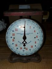 Vintage Red Kitchen Scale