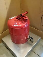 JUSTRITE 7150140 Type I Faucet Safety Can,5 gal.,Red