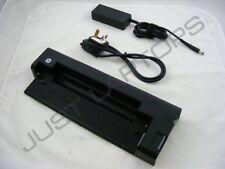 HP Compaq EliteBook 2540p HSTNN-C14X Docking Station & AC Adapter 598774-001 LW