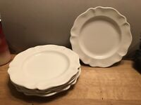 SET (5) RED CLIFF Ironstone HEIRLOOM Salad/Luncheon Plates 8-3/4""