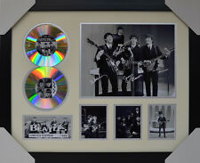 THE BEATLES SIGNED MEMORABILIA FRAMED 2 CD LIMITED EDITION #B