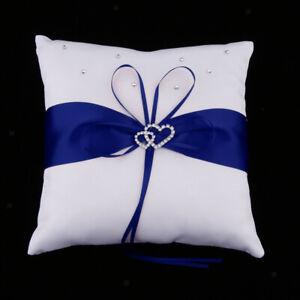 Wedding Ribbon Flower Girl Basket   Pillow Guest Book Pen Garter