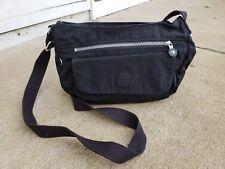 Kipling Syro Shoulder Crossbody Bag Purse Black