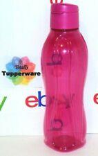 Tupperware Eco Water Bottle 36 oz Large 1 Liter Fuchsia Pink
