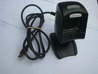 Datalogic Magellan 1000i Apotheken Barcode Scanner USB Tischscanner Schwarz #