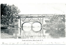 SILVER CREEK NY – Trestle and Arches – udb – mailed 1908