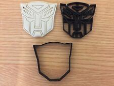 Transformers-inspired Uk Seller Plastic Biscuit Cookie Cutter Fondant Cake Decor