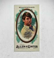 2017 Topps Allen and Ginter Mini A and G Back #127 Ollie Schniederjans - NM-MT