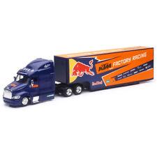 New Ray 1/43 Peterbilt Hauler KTM Factory Racing Red Bull Graphics Truck Trailer