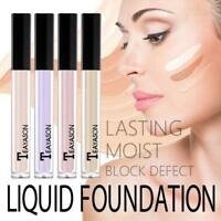 Liquid Moisturizing Long Lasting Natural Color Concealer Makeup Foundation Cream