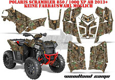 AMR Racing DECORO GRAPHIC KIT ATV POLARIS interferenzaNverso/Trailblazer WOODLAND CAMO B
