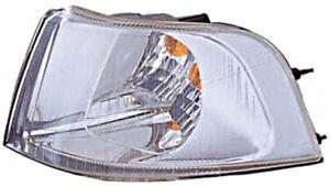 Chrome Corner Light Left Fits VOLVO S40 V40 USA Type 2001-2004