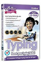 EdAlive Typing Tournament V2 (PC/Mac) Ages 6 To Adult Learn Typing Uk Curriculum