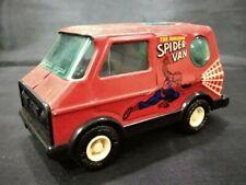 The Amazing Spiderman Spider-Man Buddy L Van 1984 vehicle Marvel Red vintage