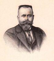 Portrait Albert Maignan Beaumont sur Sarthe Peintre Peinture Orientalisme