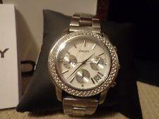 DKNY Women's Watch, Glitz Mother-of-Pearl Dial - NY8351