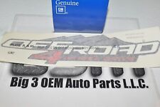 2006-2012 GMC Canyon 4 Wheel Drive Off Road Bed Side Decal new OEM 15139042