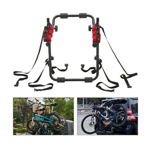 Anti-scratch 3 Bicycle Bike Car Cycle Carrier Rack Hatchback Rear Mount FITTING