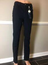 NEW-Charter Club Lexington Saturated Black Wash Straight-Leg Jeans Size 8