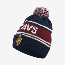Nike NBA Cleveland Cavaliers Red Blue (Removable) Pompom Stocking Cap Beanie Hat