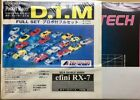 ABC HOBBY 1/24 RC Pocket Racer D.T.M efini RX-7 Full Set w/propo from Japan