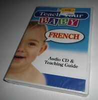 Teach Your Baby French Language (Audio CD NEW) Young Child Ages 0-3 Penton