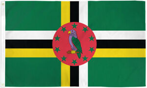 Dominica 3x5ft Flag of Dominica Dominican Flag 3x5 House Flag