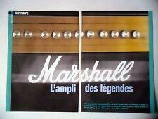 COUPURE DE PRESSE-CLIPPING : MARSHALL L'ampli des Légendes [7pages] 2006 Clapton