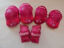 Protective Pads For Girls Razor Pink
