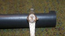 Gorgeous  Women's Westclox LTX118P Watch Silver & Gold Tone - Excellent! no batt
