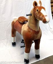 JUMBO SIZE Giddy Up Ride-On Horse (holds upto 178lbs) fast USA Shipper