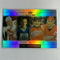 Steve Yzerman #S7 1999-00 Upper Deck MVP 90's Snapshots Insert HOF Red Wings