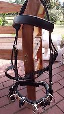 Kappzaum aus Leder Gr.X- Full / Kaltblut